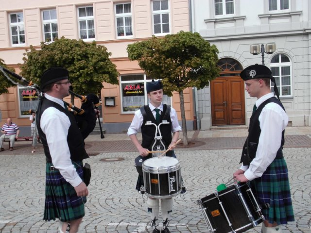 Pipesolo mit Drums